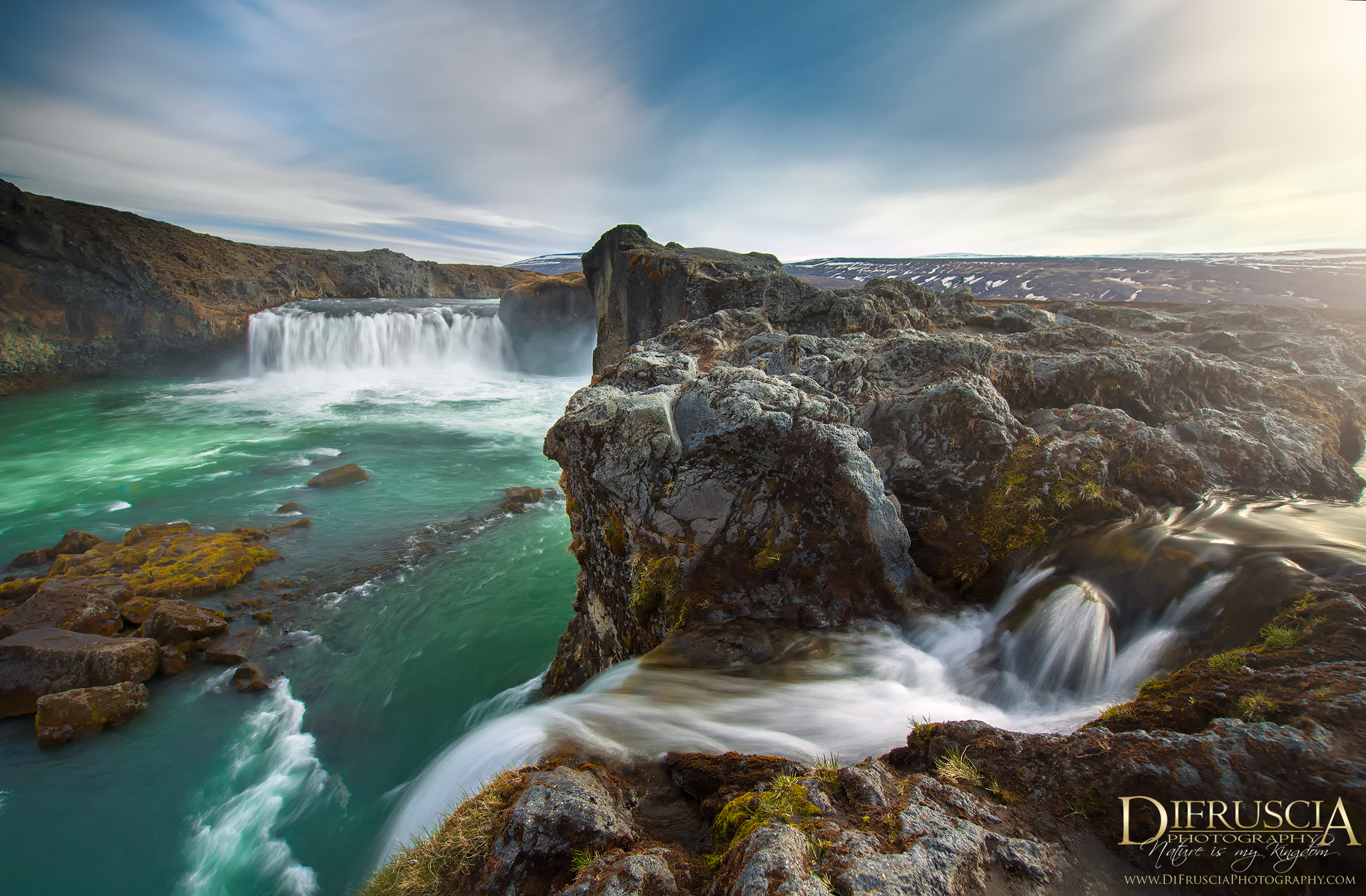 Leave the world Behind - Godafoss Iceland