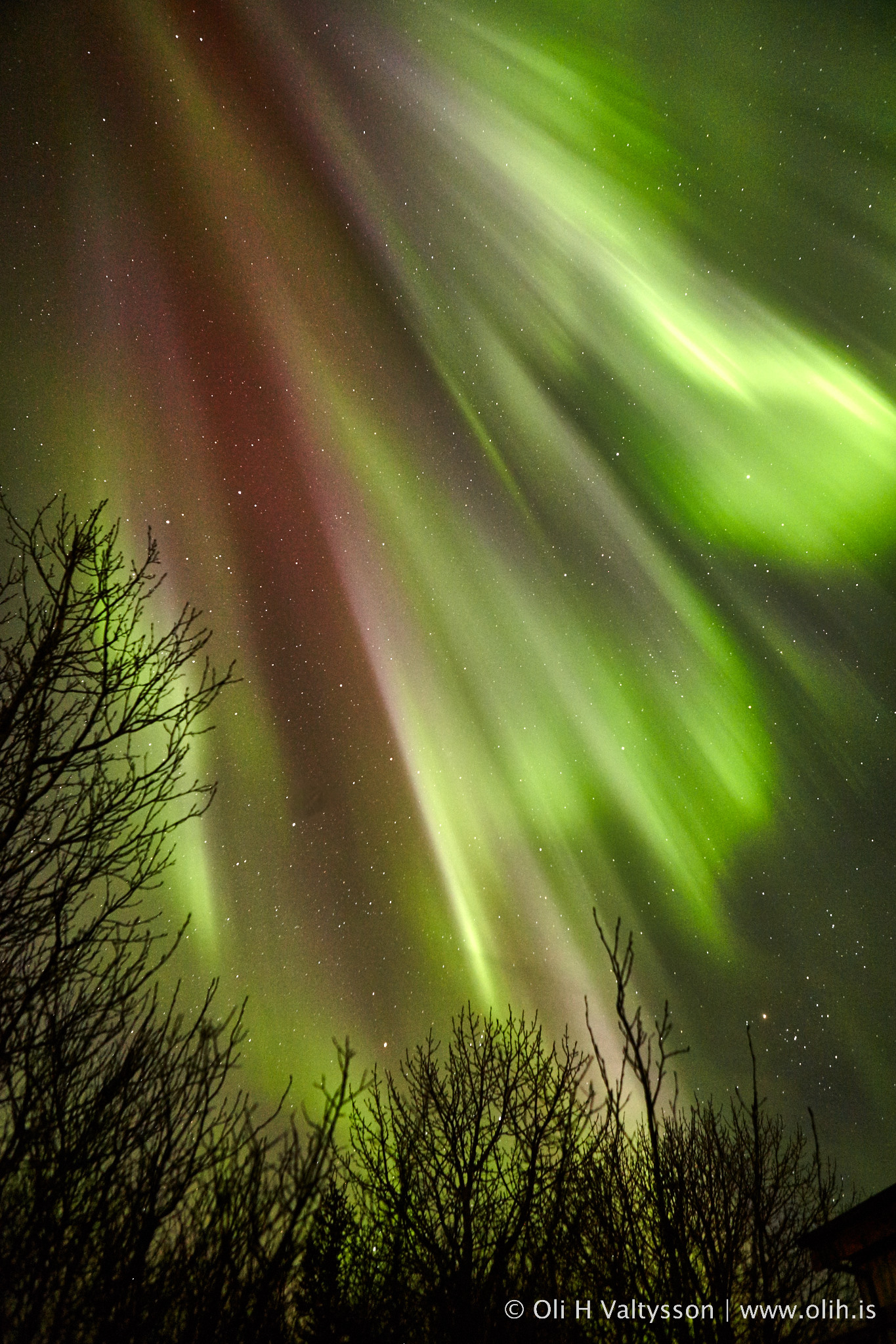 The Northern Lights Aurora Borealis Iceland En Route
