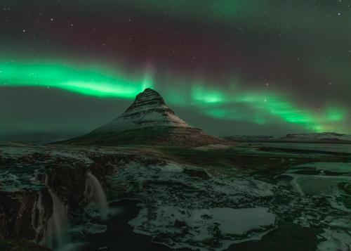 Kirkjufell - Northern Lights