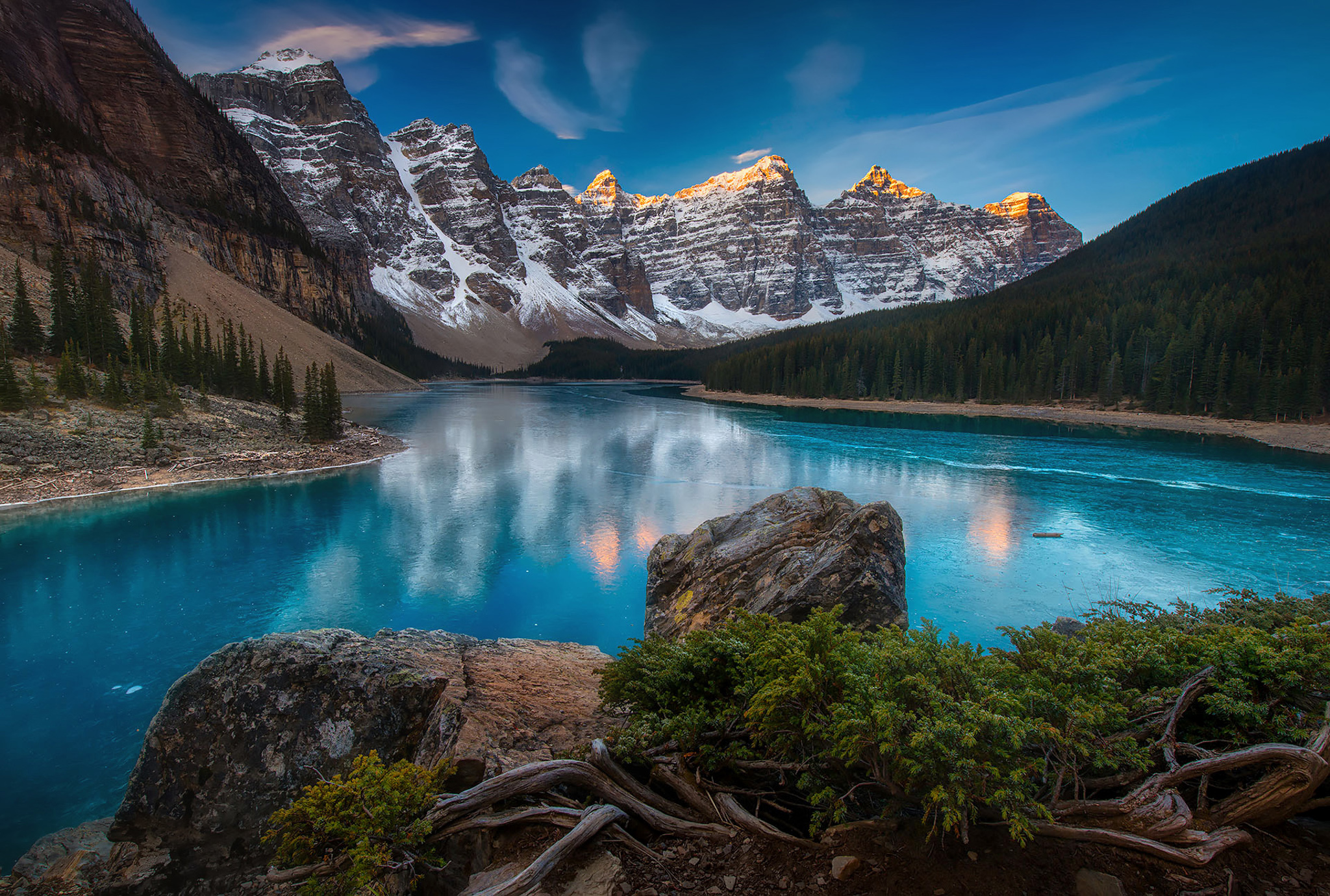 The Awakening - Moraine Lake Alberta Canada