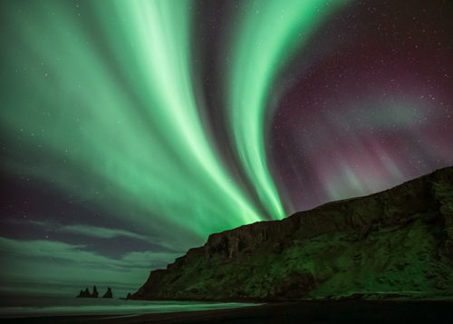 Northern Lights Reynisfjall