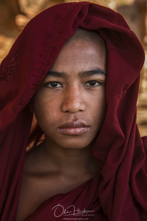 Iceland En Route - Myanmar Photo Workshop - Novice Monks
