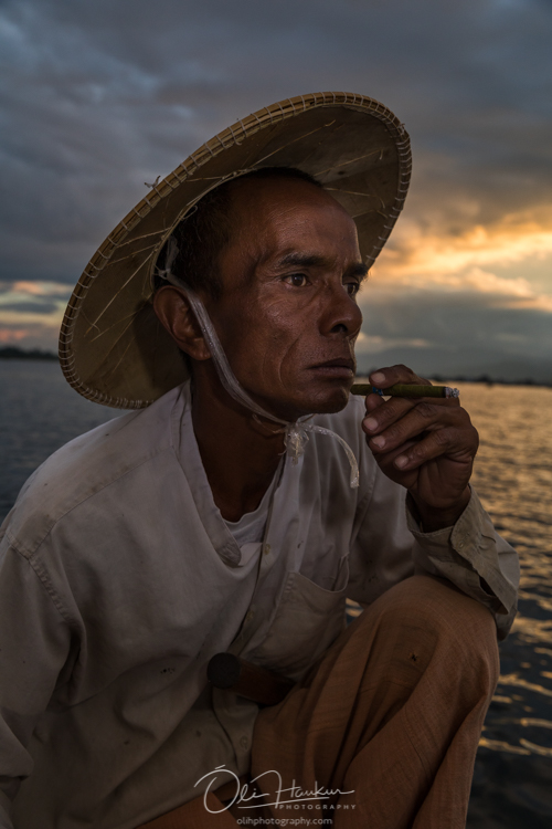 Iceland En Route - Myanmar Photo Workshop - fisherman lake inle