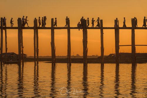 Iceland En Route - Myanmar Photo Workshop - U-Bein bridge