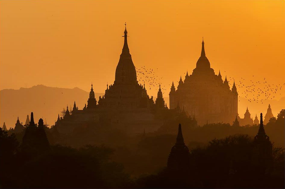 Photography workshop - sunrise in Myanmar