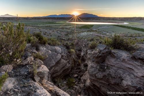 Sunrise in Bolivia