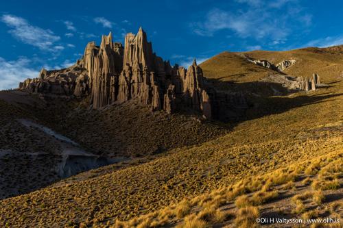 El Sillar stone formations.