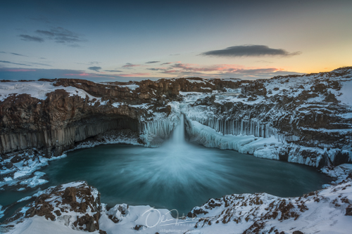 Winter Workshop in North Iceland - Aldeyjarfoss - Iceland En Route Photo Tours