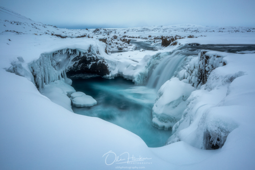 Winter Workshop in North Iceland - Hrafnarbjargarfoss - Iceland En Route Photo Tours